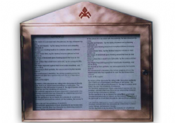 Pyramid Menu Case